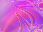 Pink Purple Orange fractal abstract background