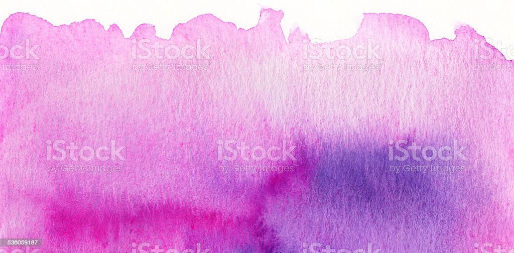 Pink purple watercolor background stock photo