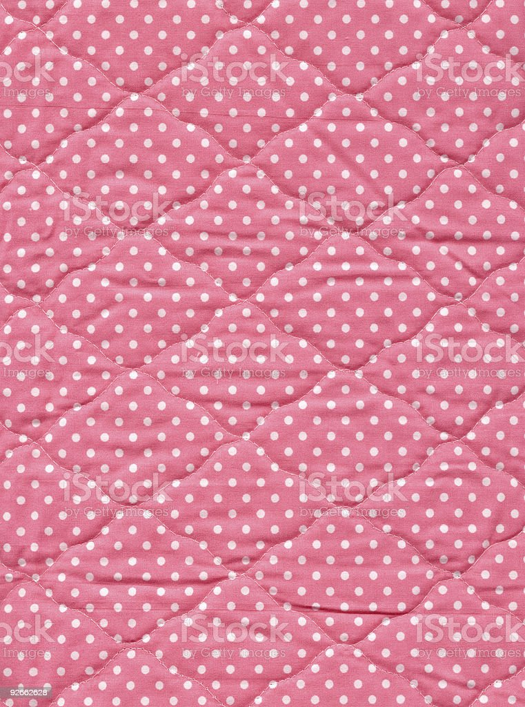 Pink Quilt royalty-free stock photo
