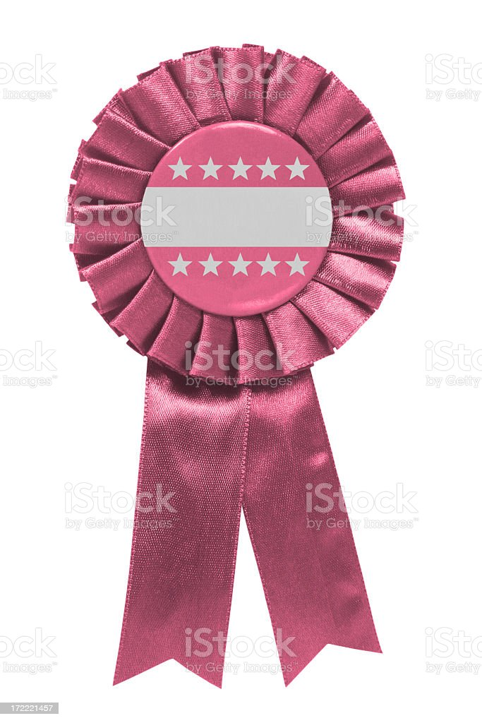 Pink ribbon royalty-free stock photo