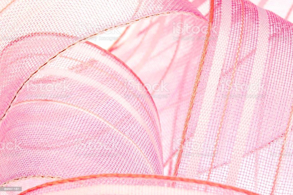 ピンクのリボン ロイヤリティフリーストックフォト