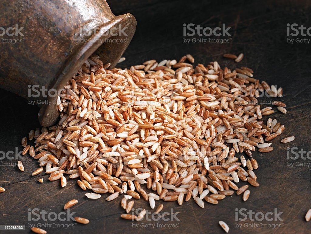 Pink Rice royalty-free stock photo