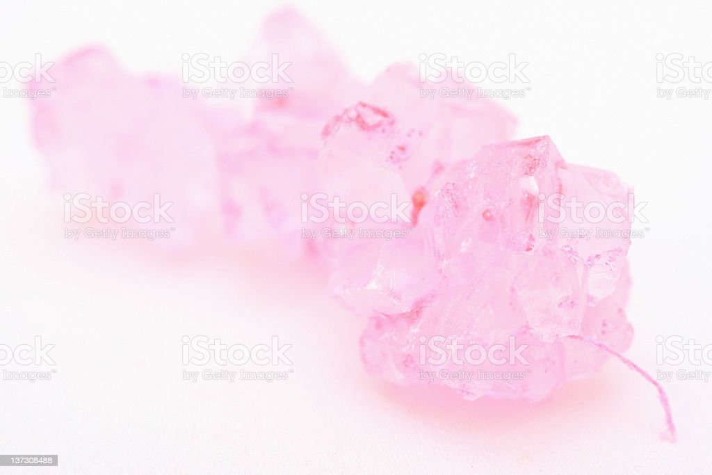 Pink Rock-Candy String royalty-free stock photo