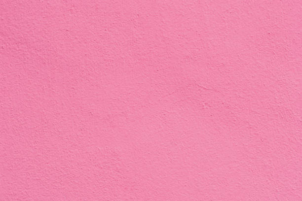 Pink rose cement plaster wall texture background. stock photo