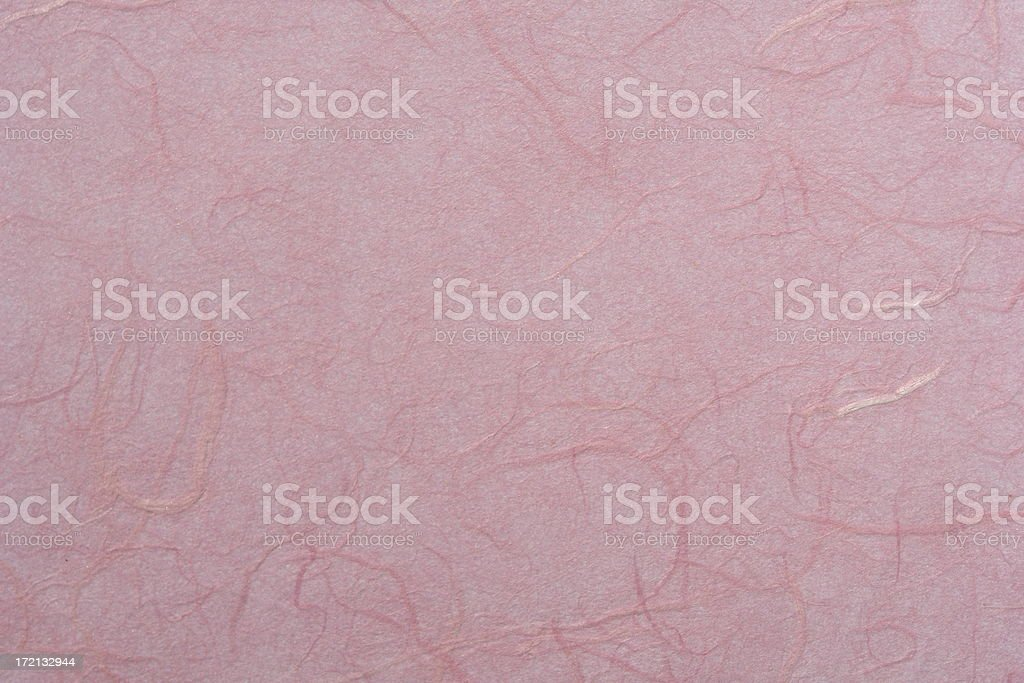 Pink Rose Mulberry Paper Texture royalty-free stock photo