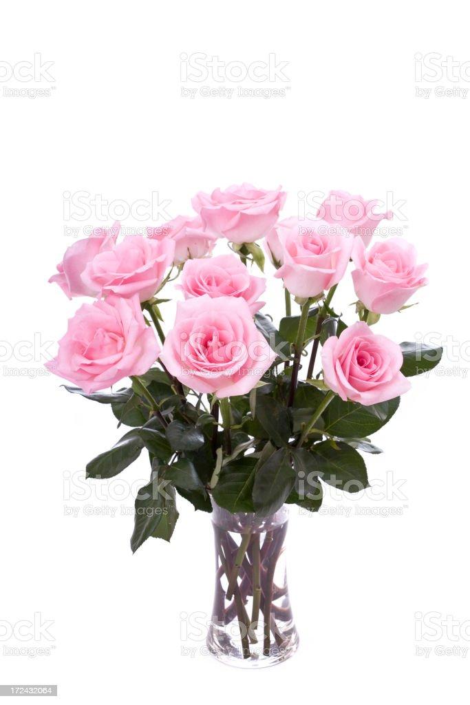 Pink Roses (XL) royalty-free stock photo