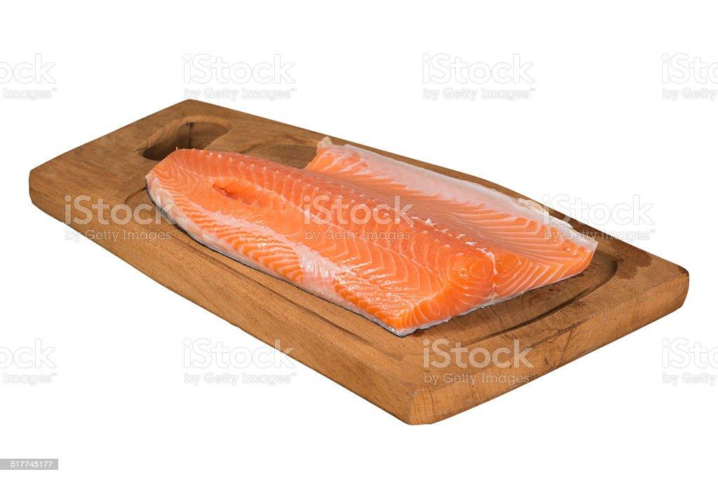 Salmón rosado - foto de stock