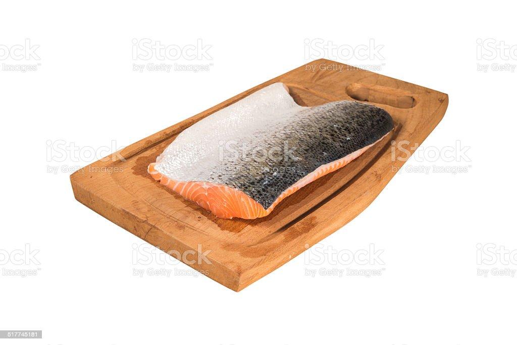 Pink Salmon stock photo