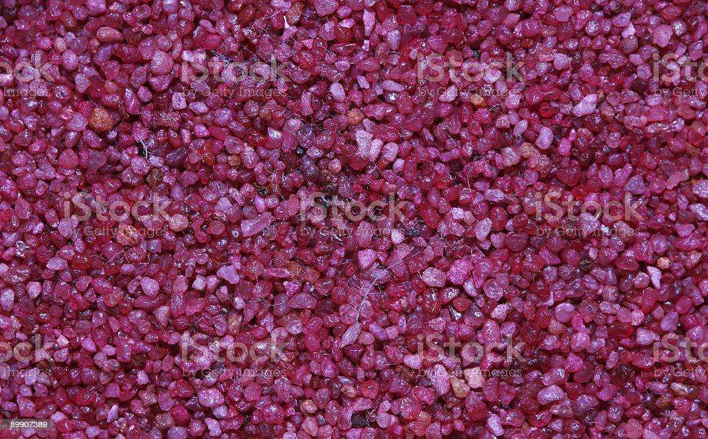 Розовый песок Стоковые фото Стоковая фотография