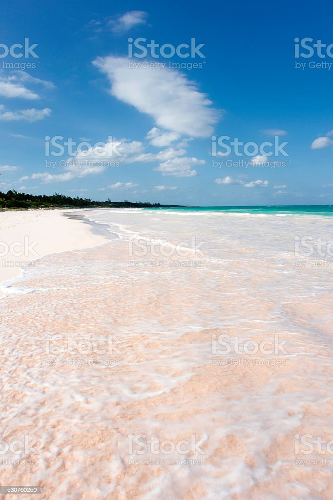 Pink Sands stock photo