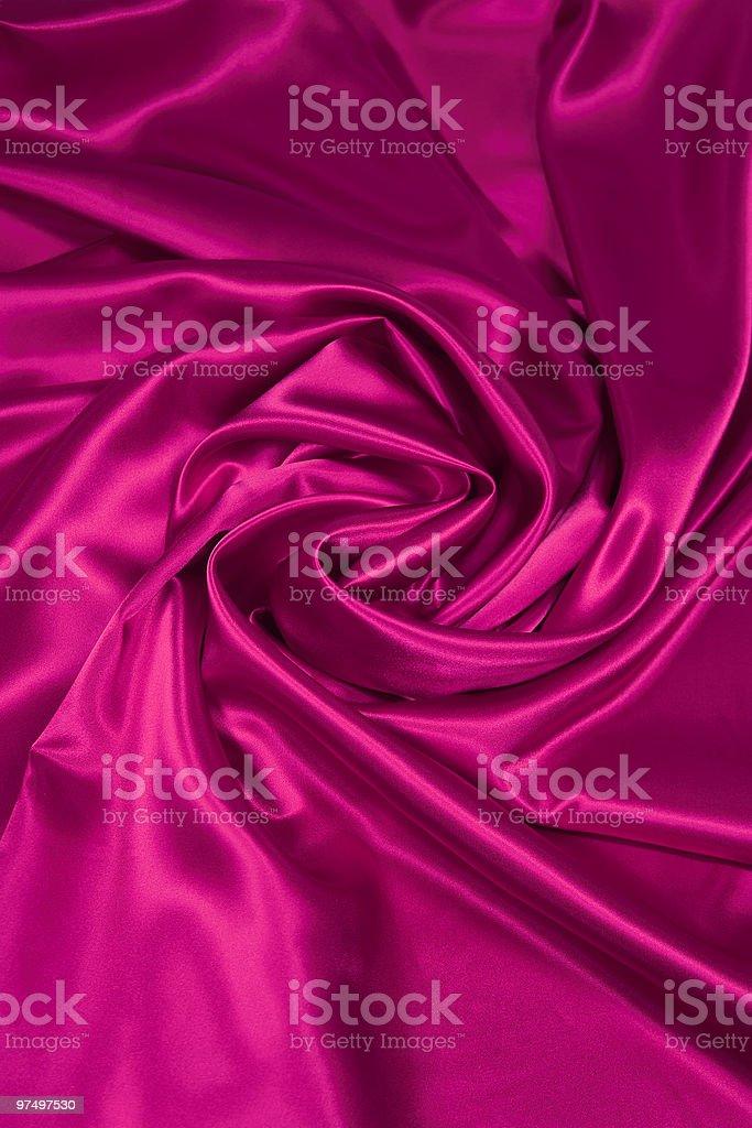 Pink Satin/Silk Fabric 2 royalty-free stock photo