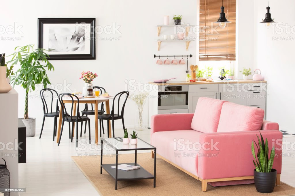 At Home Dining Settee
