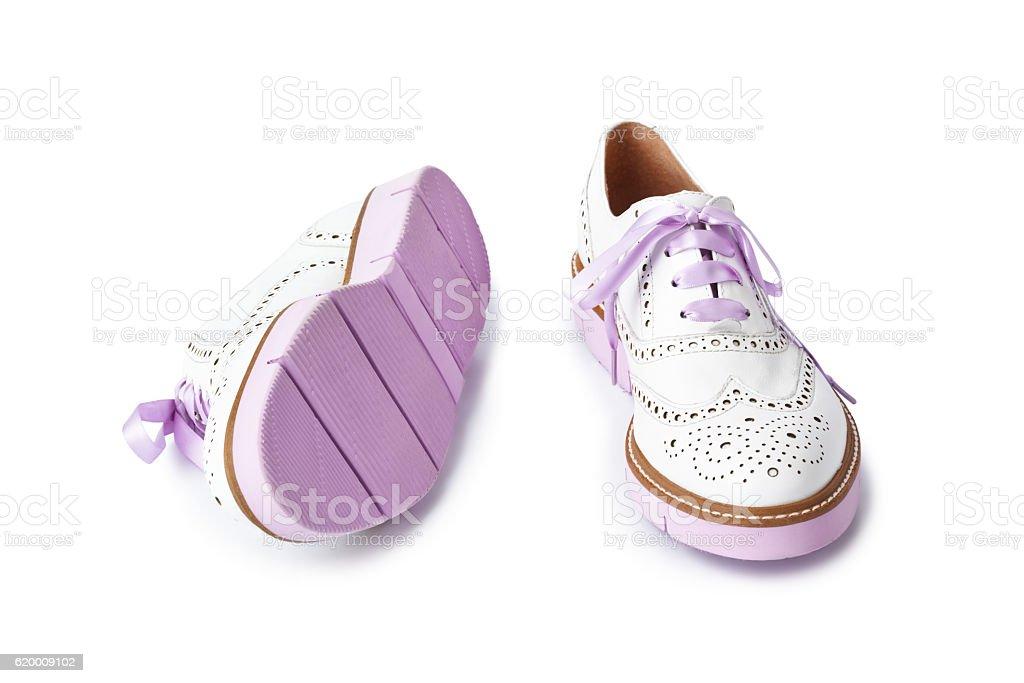De rosa shoes foto de stock royalty-free