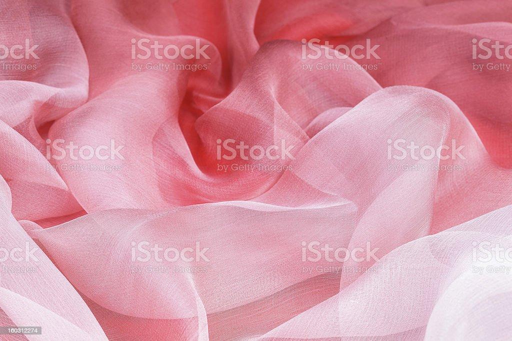 Pink silk royalty-free stock photo