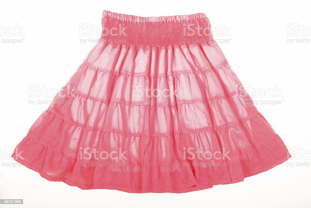 pink skirt royalty-free stock photo