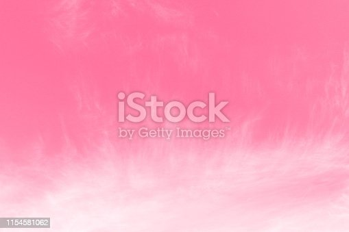 istock Pink Sky background, Sky Pink Valentine, Sky pink Beautiful background with clouds 1154581062