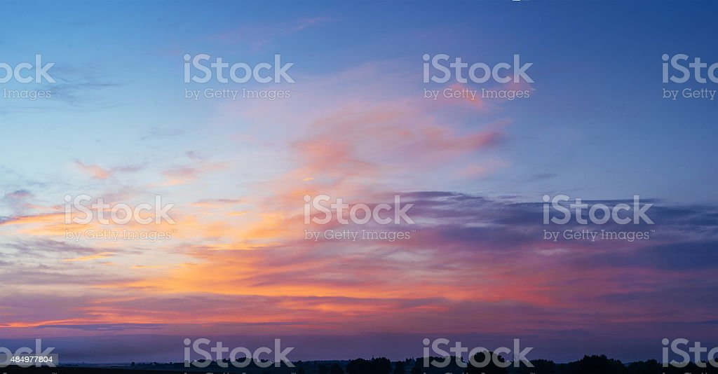 pink sky - Royalty-free 2015 Stock Photo