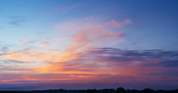 pink sky pink sky twilight stock pictures, royalty-free photos & images