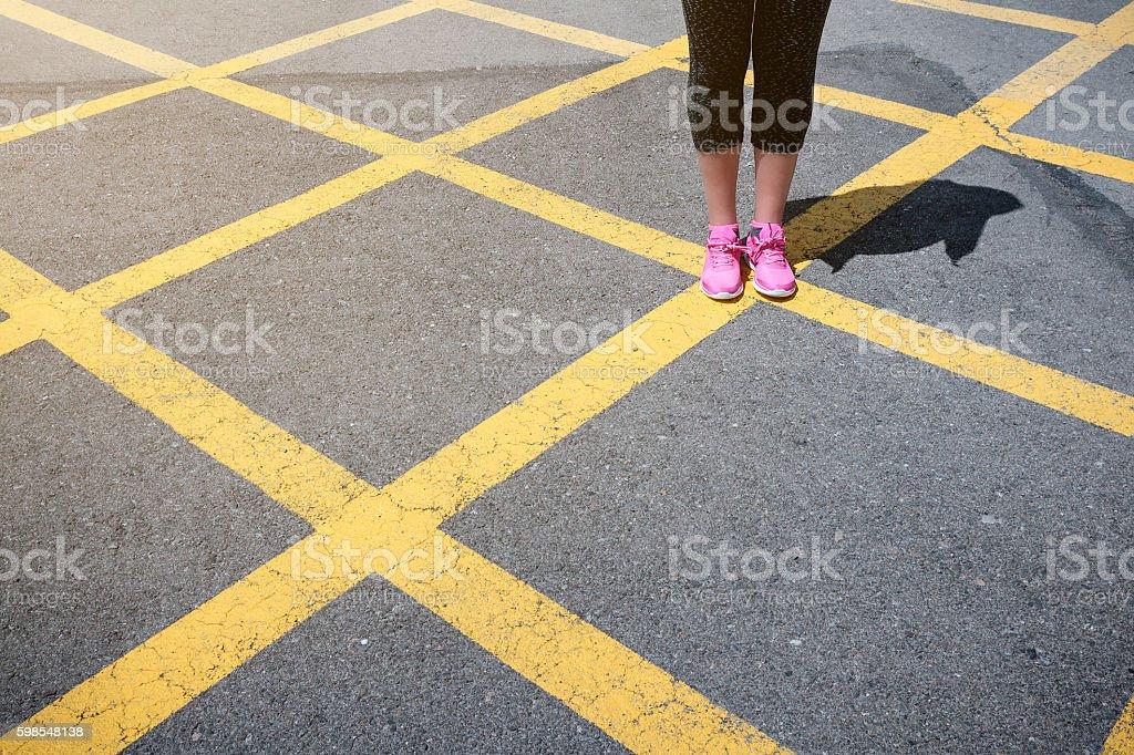 Chaussures Rose photo libre de droits