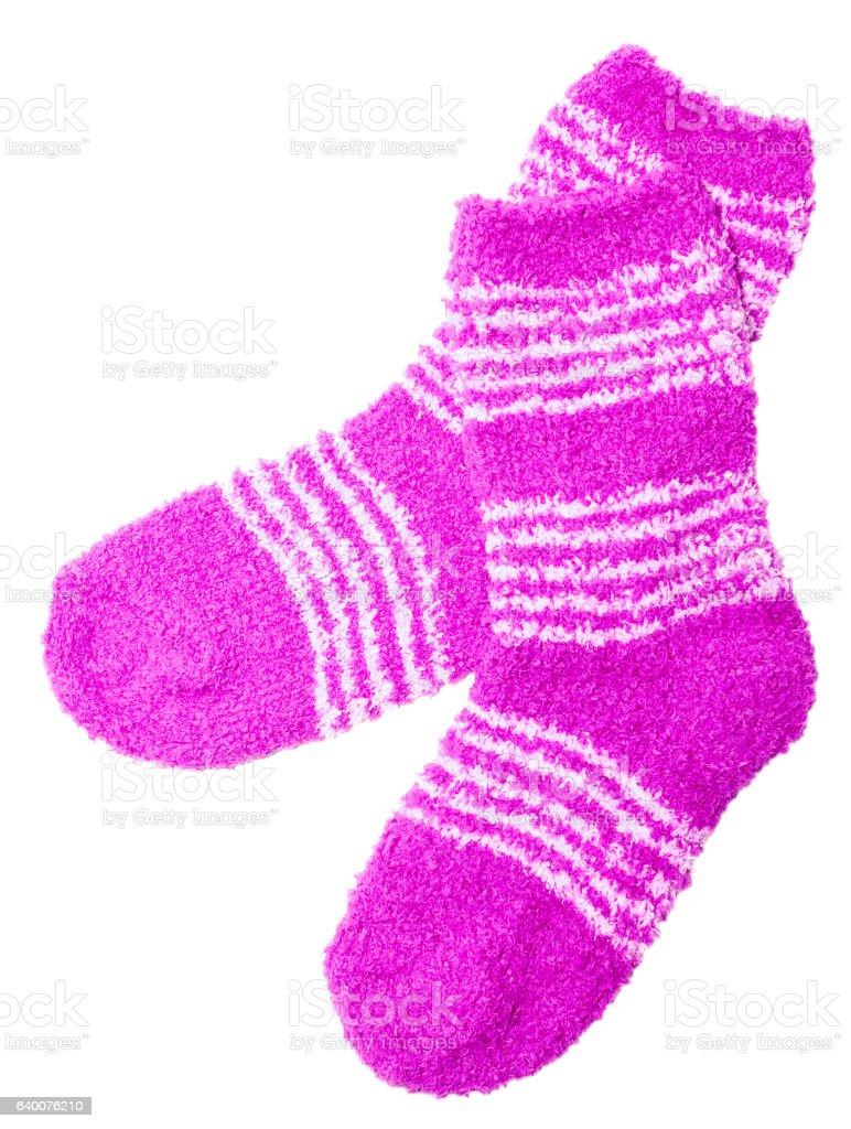 pink socks stock photo