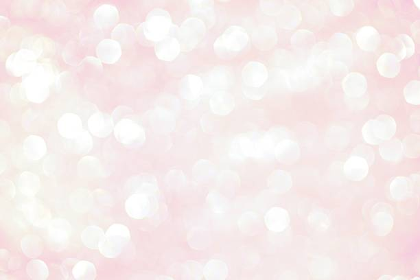 Pink Sparkle Background stock photo