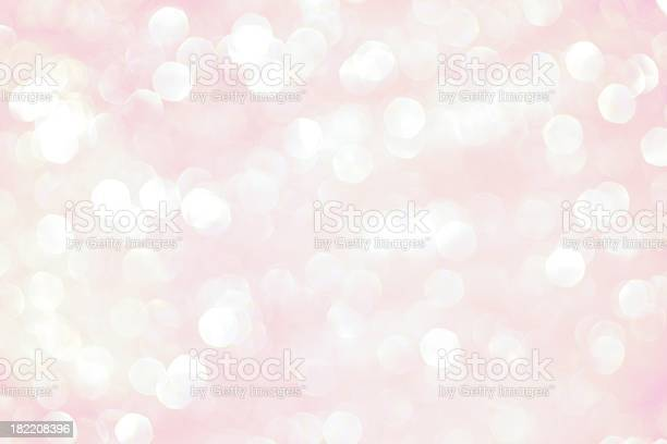 Pink Sparkle Background Stock Photo - Download Image Now