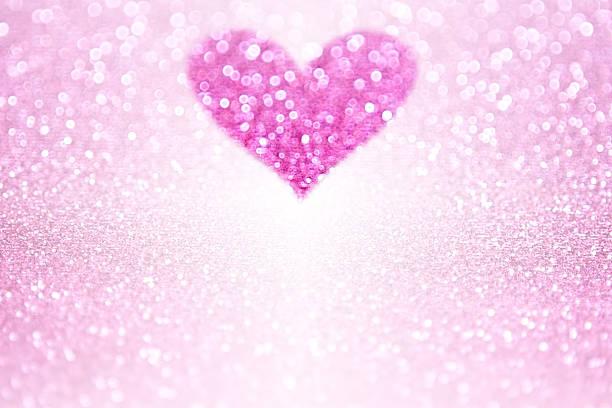 pink sparkle glitzerherz party-laden - prinzessinnenstil stock-fotos und bilder