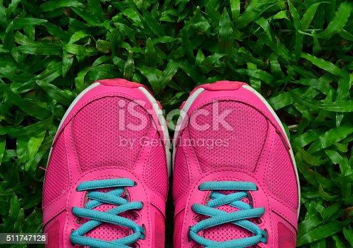 629605142istockphoto Pink Sport Shoe 511747128