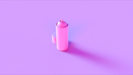 Pink Spray Can