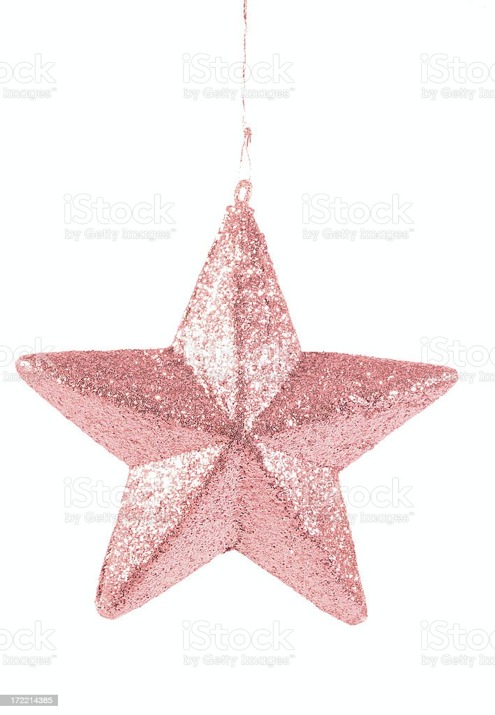 pink star request royalty-free stock photo