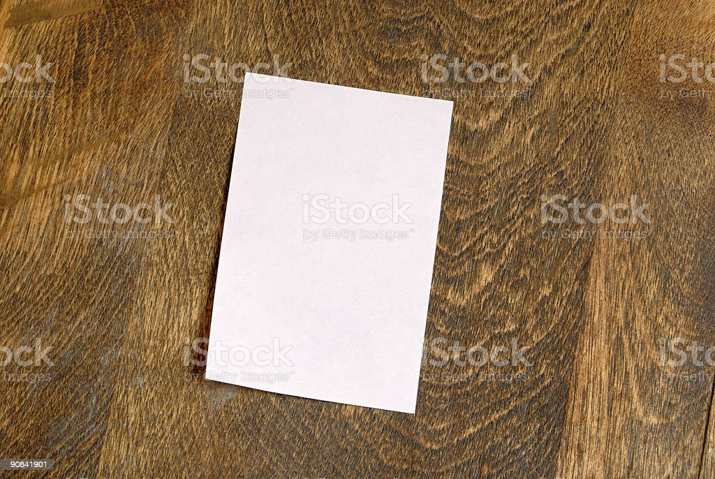 Pink Sticky Note royalty-free stock photo