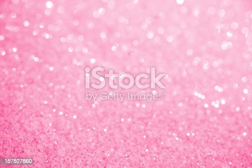 157527860 istock photo Pink Sugar Sparkle Background 157527860