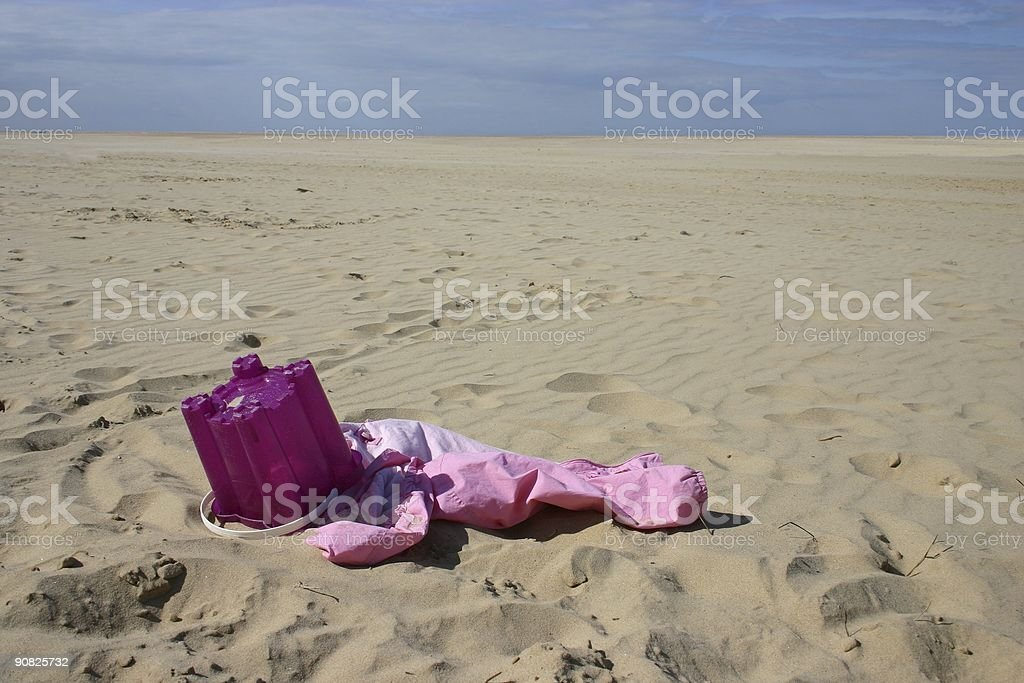 Pink summer fun royalty-free stock photo