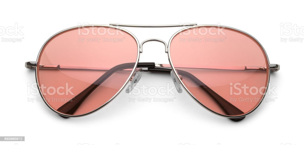 Pink Sun Glasses stock photo