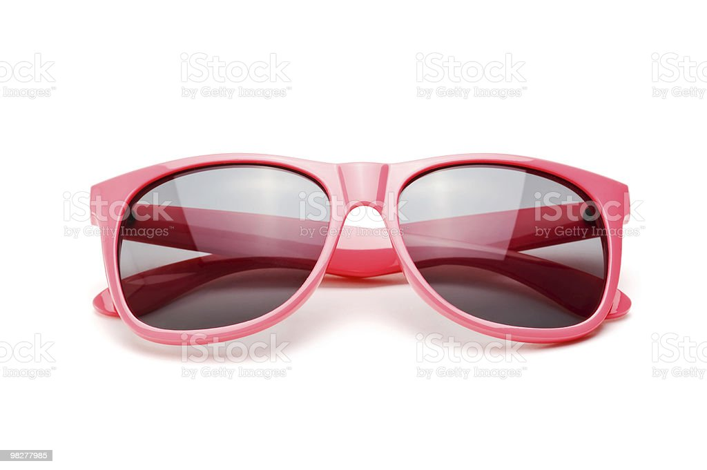 pink sunglasses royalty-free stock photo
