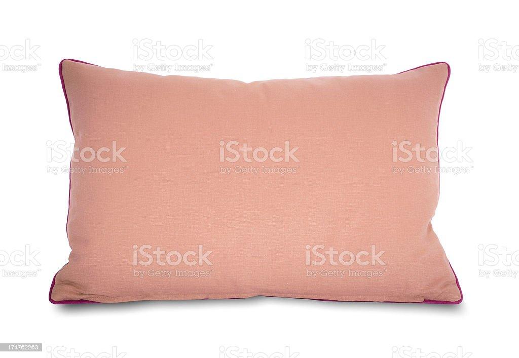 Pink Taffeta Pillow royalty-free stock photo