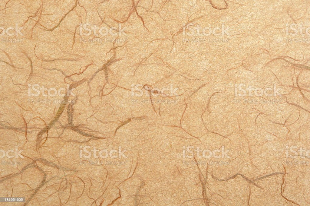 Pink Tan Mulberry Paper Texture royalty-free stock photo