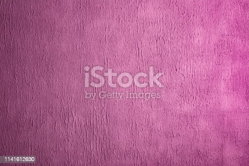 istock Pink texture background with space for text 1141612630