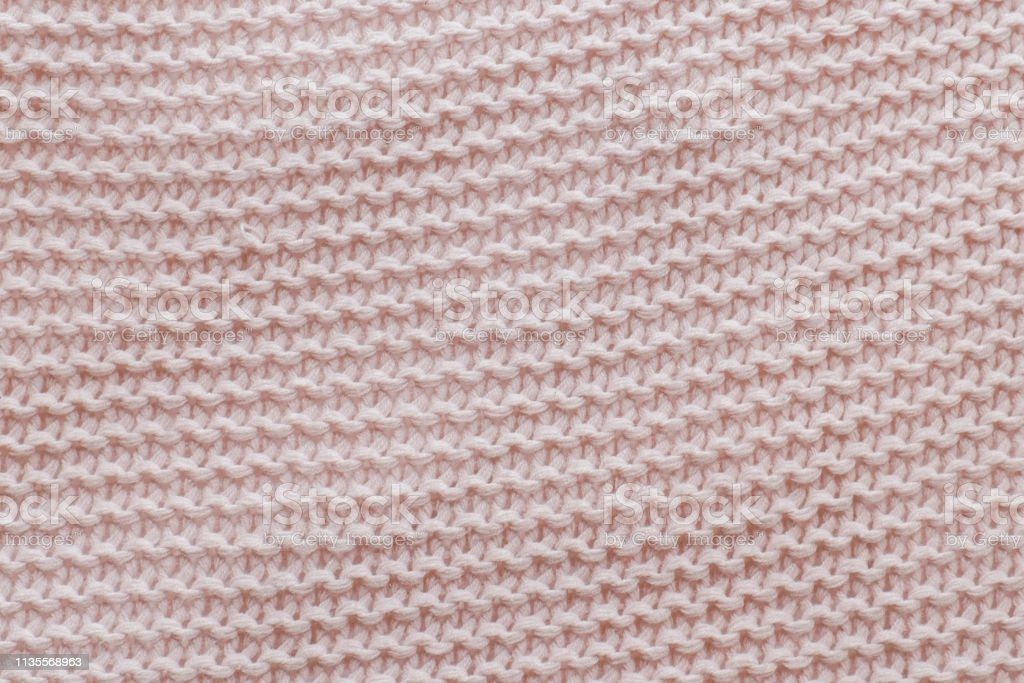 Pink texture of the knitted a fabric