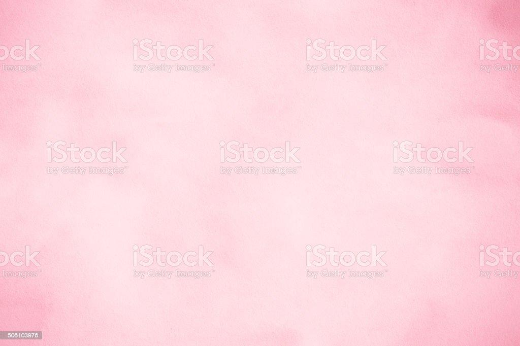 Pink textured paper.