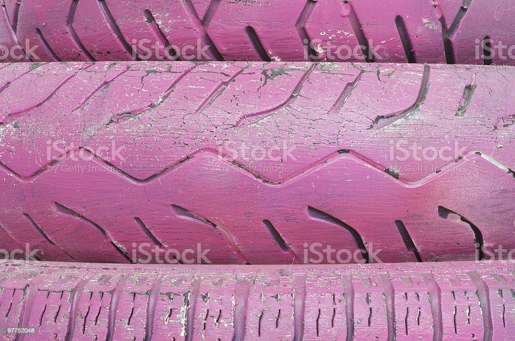 Rosa pneumatico - foto stock