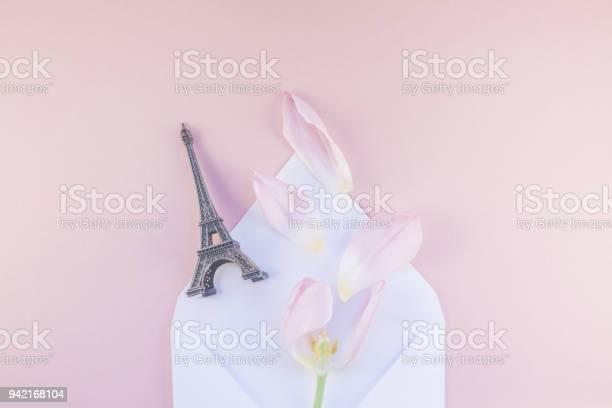 Pink tulip in envelope with eiffel tower miniature picture id942168104?b=1&k=6&m=942168104&s=612x612&h=31g6fkeaso4lqpxwjnjdvbyzwi  haqdyittjlvei44=
