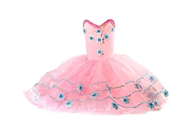 rosafarbenen ballettröckchen kostüm - tüllkleid stock-fotos und bilder