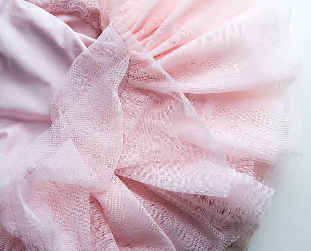 pink tutu from above - tüllkleid stock-fotos und bilder