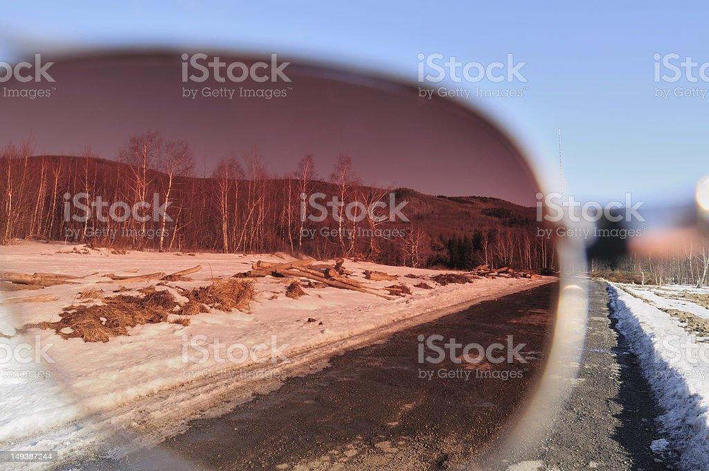 Pink vision stock photo