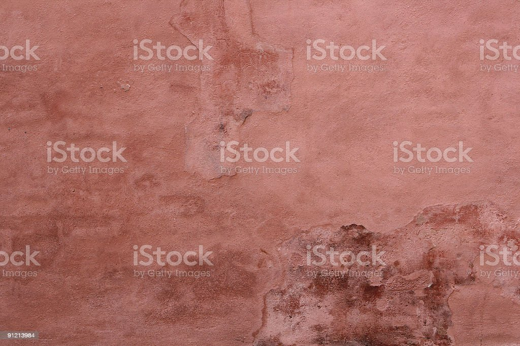 Pink wall texture in Venice, Italy royalty-free stock photo
