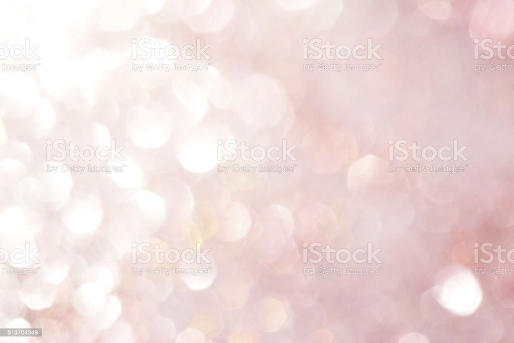 Pink, white soft lights abstract background - soft colors stock photo