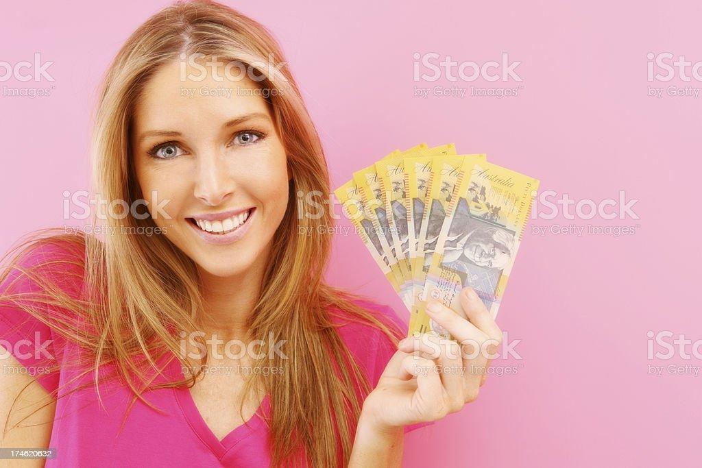 Pink Winnings stock photo