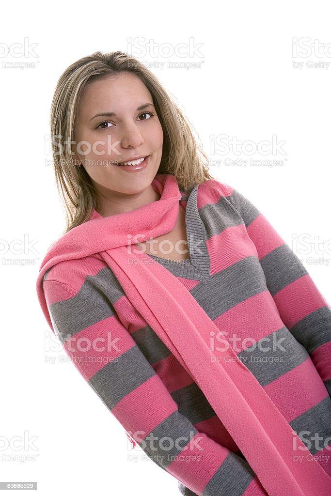 Розовый женщина Стоковые фото Стоковая фотография