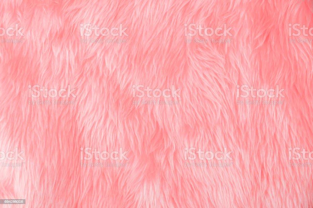 Pink wool stock photo